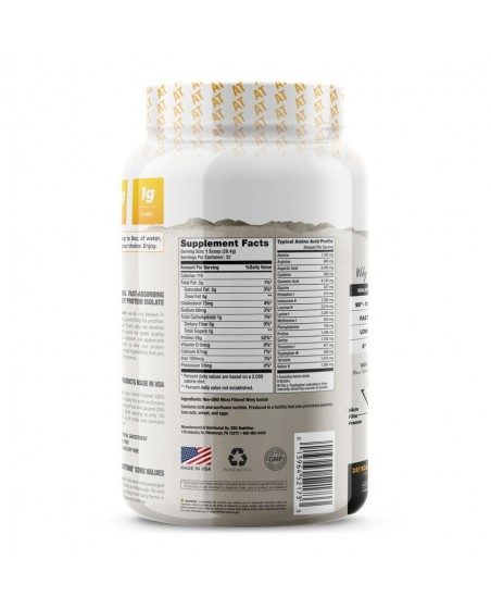 Back Label -